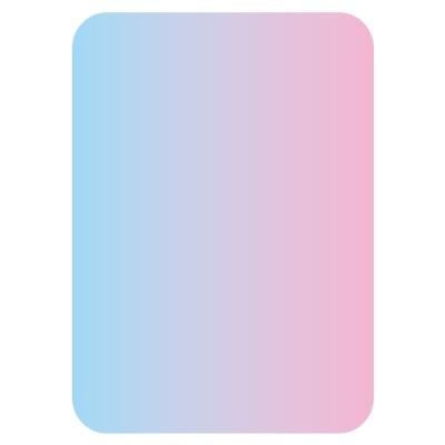 [현진아트] FHC폼아트하드롱 칼라-투톤 303하늘/분홍 [장/1]  396842