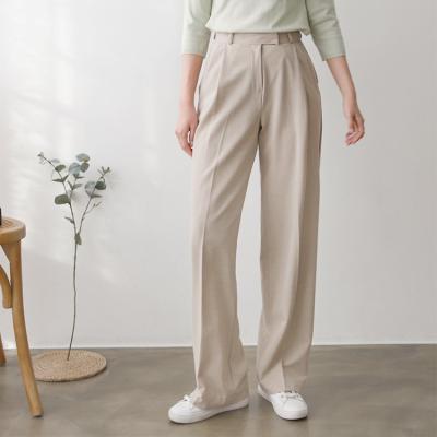 Wool Wide Leg Pants