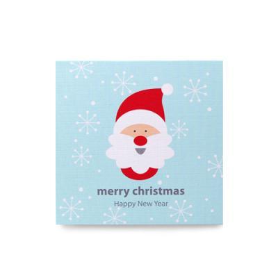 눈꽃산타 카드