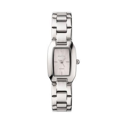 [럼튼] 여성 팔찌 메탈 손목시계 브릿 실버 RW-RE1S