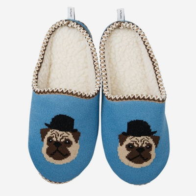 (Confiture) Dapper Room Shoes - Pug