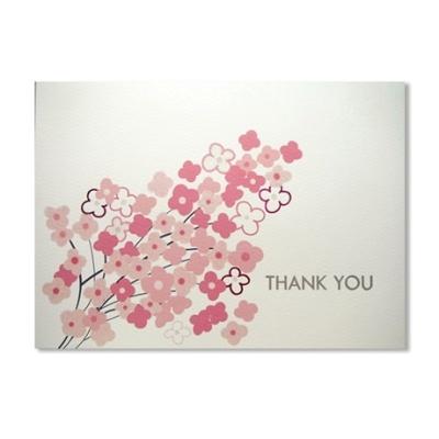 홀마크 감사 카드(꽃9)-KED3061