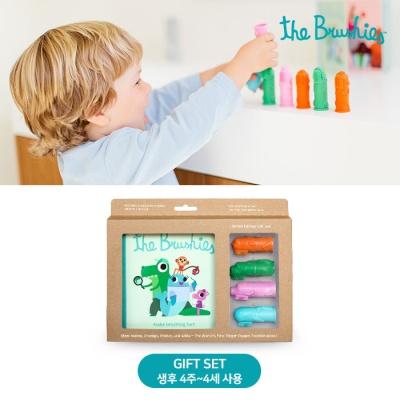 유아 아기 칫솔 스토리북SET 디자인선택 출산 백일 돌 선물 추천
