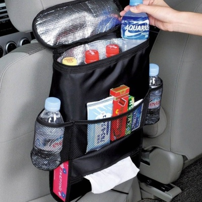 차량용 보냉백 자동차 뒷좌석 쿨러백 아이스 가방