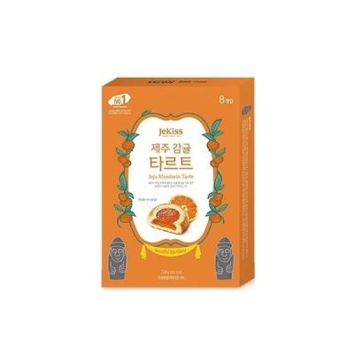 [제키스] 제주 감귤타르트 대 8개입(244g)