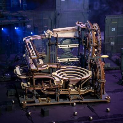 톱니바퀴 목조조립 3D 입체퍼즐 나무조립키트