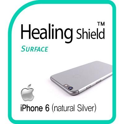 [힐링쉴드] 아이폰6(iPhone6) 내츄럴 실버 후면보호필름 1매(HS150657)