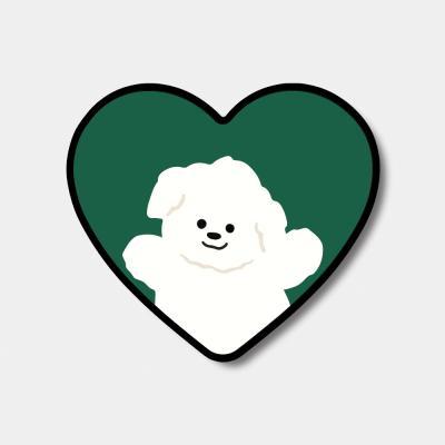 [하트톡♥] green 까꿍 뽀꾸