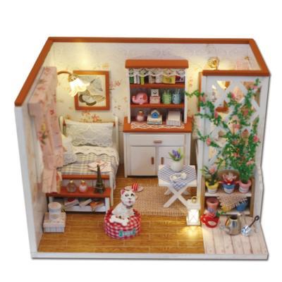 [adico]DIY 미니어처 하우스 - 가든 하우스