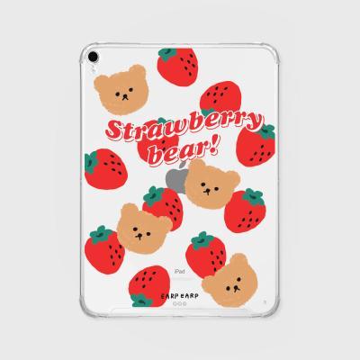 Big strawberry bear(아이패드-투명)
