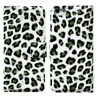 Leopard Flip 그린(아이폰 5용)