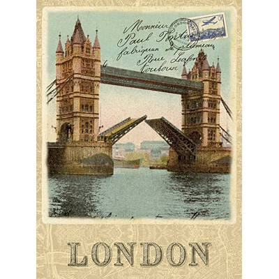 직소퍼즐 [500조각] - 런던 엽서(cl30585)