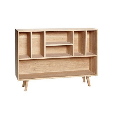 [Hubsch]Dresser w/7 compartments, oak, nature 889034 수납장
