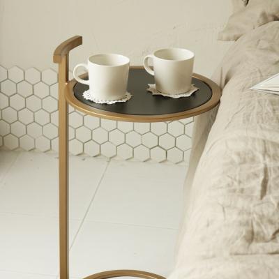 밀란 원형 사이드 테이블