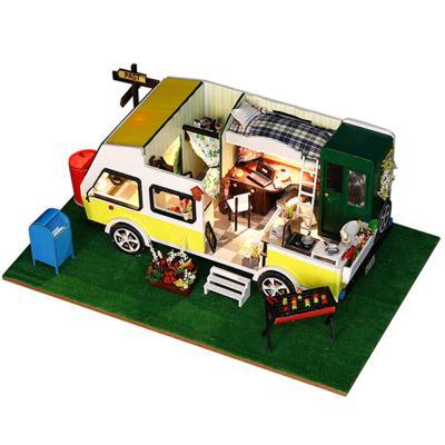 [adico]DIY 미니이처 하우스 - 모던 캠핑카