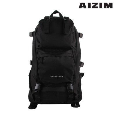 AIZIM 백패커 트래블 백팩 해외여행 큰가방 ASK008MBK