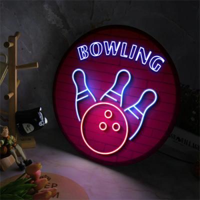 no179-LED액자45R_생활스포츠볼링