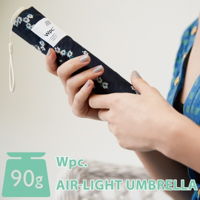 wpc우산 초경량90g 빈티지플라워 미니 3단우산 AL-016