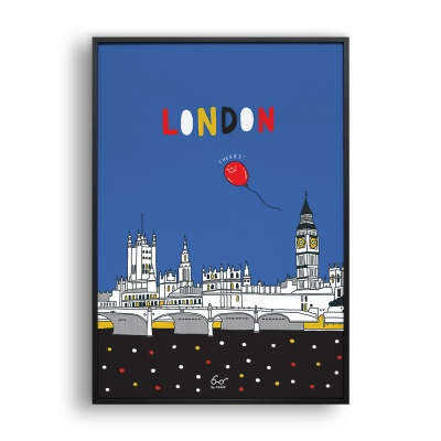 Your London / 일러스트 액자