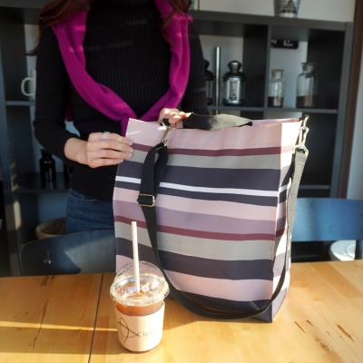 [플루토나인] 핑크뮬리 숄더백 빅사이즈 기저귀가방