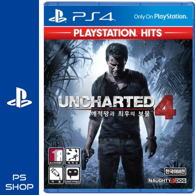 PS4 언차티드4 해적왕과 최후의보물 PS HITS (할인이