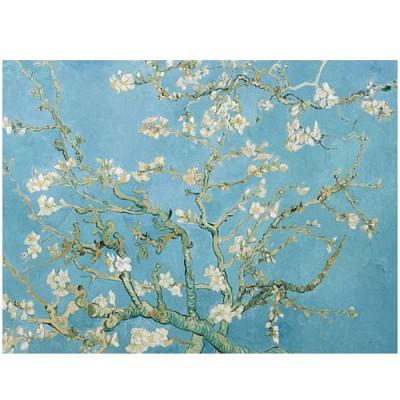 꽃이 핀 아몬드 나뭇가지 150조각