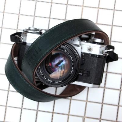 씨에스타 가죽 카메라스트랩 CSS-L30 - 지아노 다크그린