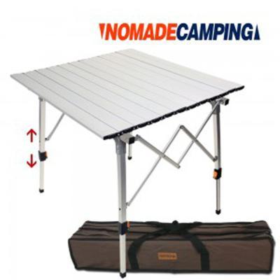 노마드 투엑스 알루미늄 롤 테이블 -실버/캠핑테이블