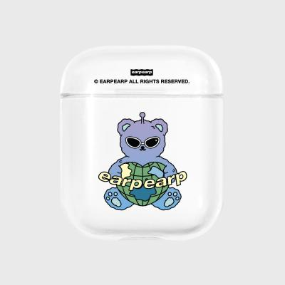 Space night bear-clear(Air pods)