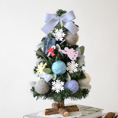 FN7777 램스이어 블루 크리스마스트리