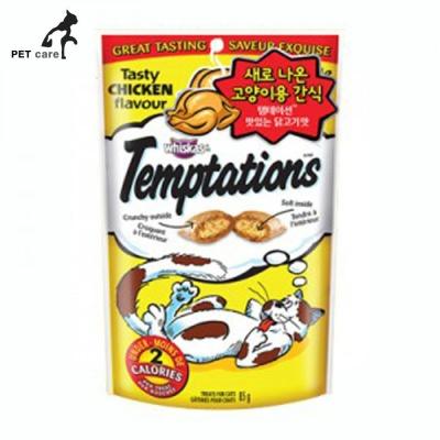 템테이션 맛있는 닭고기맛 85g (고양이간식)