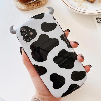 아이폰11PRO MAX XR 8 SE2 카우 젖소 뿔 실리콘케이스