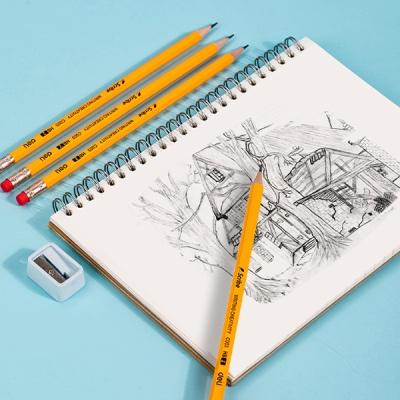 DELI 델리 스크라이브 옐로우 펜슬 지우개연필 12자루