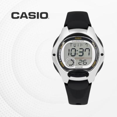 카시오 남자 여자 아동 어린이 손목시계 LW-200-1A