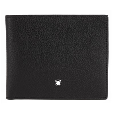 몽블랑 MEISTERSTUCK SOFT GRAIN WALLET 6CC (111124)
