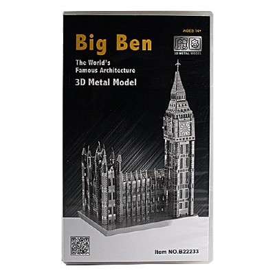 [3D메탈웍스] 빅벤 (3DM540159) B22233 금속조립키트