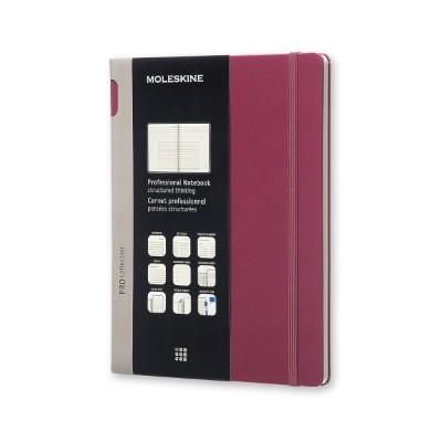 몰스킨 프로페셔널 노트/플럼퍼플 하드 XL 몰스킨 (몰스킨)