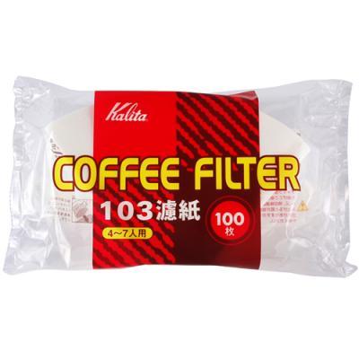 Whatcoffee칼리타 NK 103 필터 백색 100매