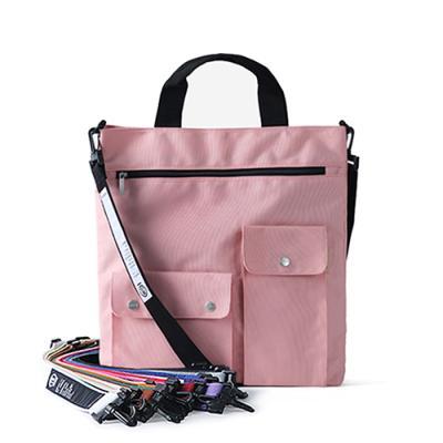 [버빌리안] 커스텀 크로스백 4 color (핑크)