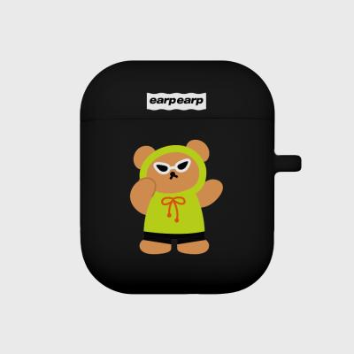 Sunglass bear-black(Air pods)