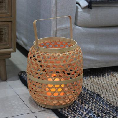 보자 라탄 대나무 인테리어 조명 무드등