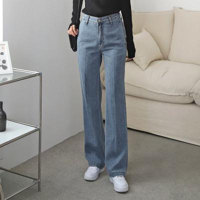 Classic Slacks Straight Jeans