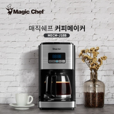 매직쉐프 대용량 커피메이커 J18B 자동보온기능탑재