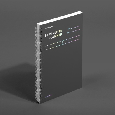 [모트모트] 텐미닛 플래너 100DAYS - 다크호스 (1EA)