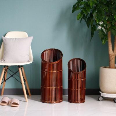[2HOT] 대나무 원형 우산꽂이 2P
