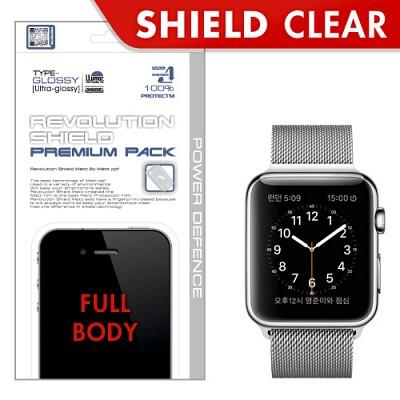 [프로텍트엠/PROTECTM] 애플워치 Apple Watch 레볼루션쉴드 프리미엄팩 전신보호필름+액정보호필름