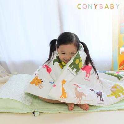 [CONY]꿀잠일체형낮잠이불세트(공룡)