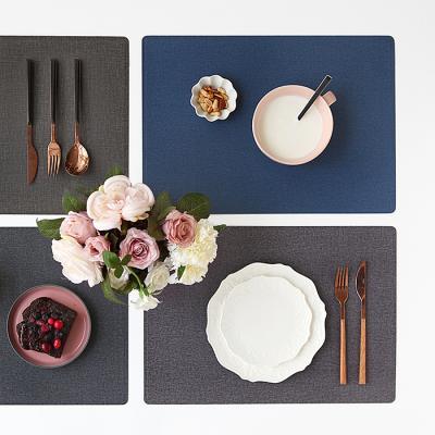 르리에 인조가죽 식탁 테이블매트(직사각)