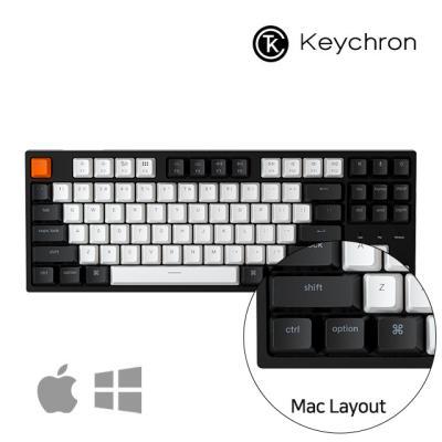 [키크론] C1 유선 기계식 키보드 / 애플 텐키리스