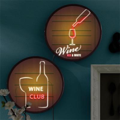 no630-LED액자25R_와인클럽